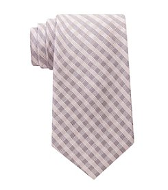 Calvin Klein Men's Ridge Mini Check Tie