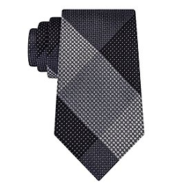 Kenneth Cole REACTION® Men's Patchwork Grid Tie
