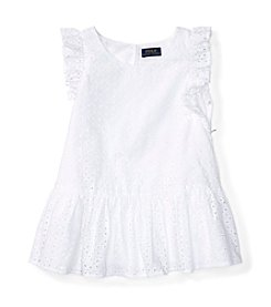 Polo Ralph Lauren® Girls' 7-16 Eyelet Top