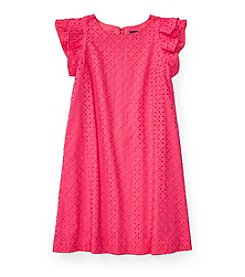 Polo Ralph Lauren® Girls' 7-16 Eyelet Woven Dress
