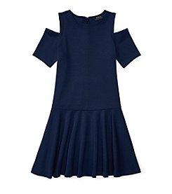 Polo Ralph Lauren® Girls' 7-16 Solid Ponte Dress