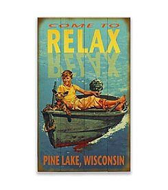Meissenburg Designs Come To Relax Sign