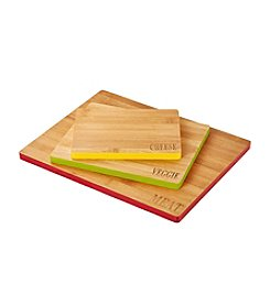 Farberware® Set Of Three Bamboo Cutting Boards