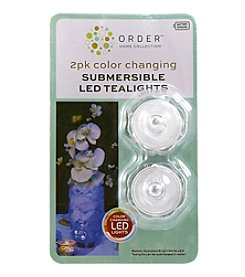 Order Home Collection® 2 pc. Color Changing Submersible Tealight With Timer Set