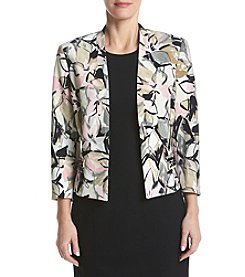 Kasper® Embellished Pocket Print Jacket