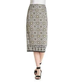 Max Studio Edit™ Multi Print Skirt