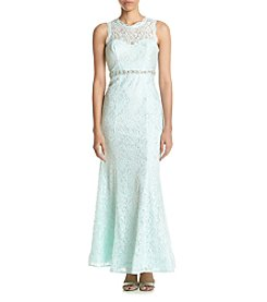 My Michelle® Long Lace Dress