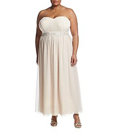 Speechless® Plus Size Long Chiffon Dress