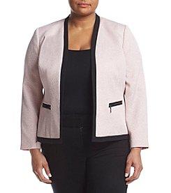 Kasper® Plus Size Tweed Jacket