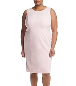 Kasper® Plus Size Stretch Crepe Dress