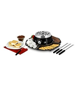 Kalorik Black 2-in-1 S'mores Maker with Chocolate Fondue