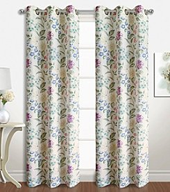 United Curtain Co. Christine Window Curtain Panel Pair
