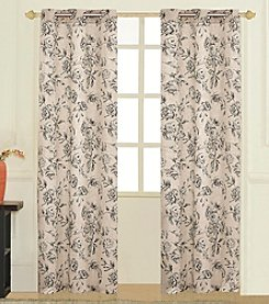 United Curtain Co. Fiona Curtain Panel Pair