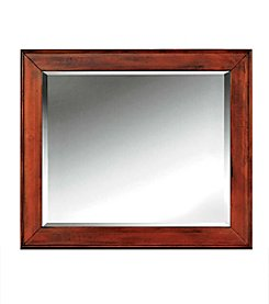 Cresent Retreat Cherry Mirror