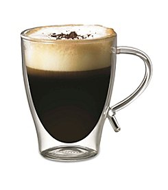 Starfrit Double-Wall Glass Coffee Cup