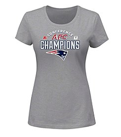 Majestic® NFL® New England Patriots Women's Conference Choice Short Sleeve Tee