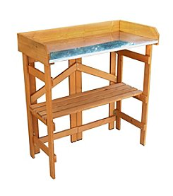 Northbeam Folding Utility Table & Potting Bench