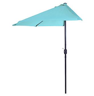 half round patio umbrella