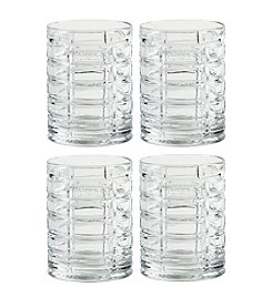 Hershey's By Fitz and Floyd® Set of 4 Pip Short Tumblers