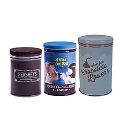 Hershey's By Fitz and Floyd® Set of 3 Remember Your First Canisters