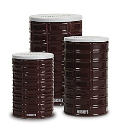 Hershey's By Fitz and Floyd® Set of 3 Pip Canisters