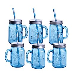 Jolly Rancher By Fitz and Floyd® Set of 6 Jolly Jar Sippee Mugs