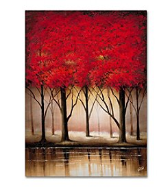 Trademark Fine Art Rio 'Serenade in Red' Canvas Art
