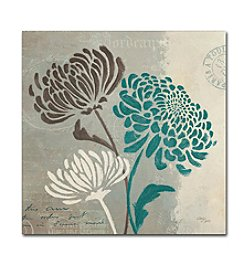 Trademark Fine Art Wellington Studio 'Chrysanthemums II' Canvas Art