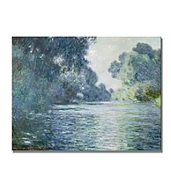 Trademark Fine Art Claude Monet 'Branch of the Seine near Giverny' Canvas Art