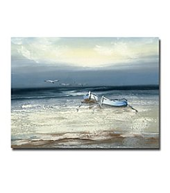 Trademark Fine Art Rio 'Low Tide' Canvas Art