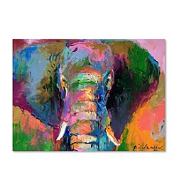 Trademark Fine Art Richard Wallich 'Elephant 2' Canvas Art