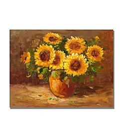 Trademark Fine Art 'Sunflowers Still Life' Canvas Art