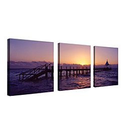 Trademark Fine Art Preston 'Seascape' Canvas Art