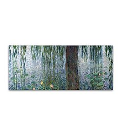 Trademark Fine Art Claude Monet 'Waterlillies Morning' Canvas Art