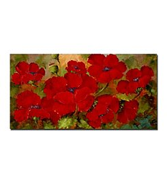 Trademark Fine Art Rio 'Poppies' Canvas Art
