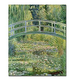 Trademark Fine Art Claude Monet 'The Waterylily Pond Pink Harmony 1899' Canvas Art