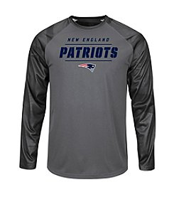 Majestic® NFL® New England Patriots Men's League Rival Long Sleeve Tee