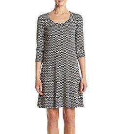 Karen Kane® Fox A-line Dress