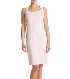 Kasper® Solid Crepe Dress