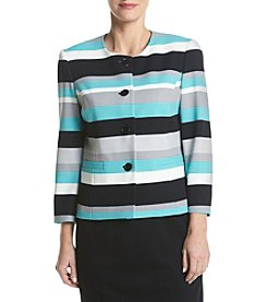 Nine West® Scuba Crepe Jacket