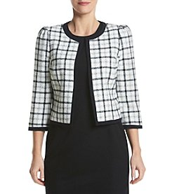 Nine West® Plaid Jacket