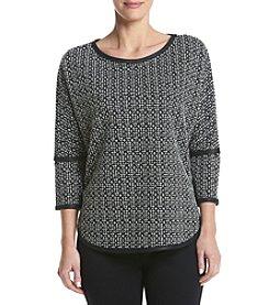 Max Studio Edit™ Trimmed High-Low Sweatshirt