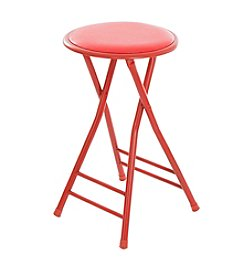 Trademark Home Cushioned Folding Stool
