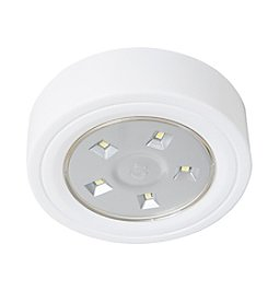 Lavish Home LED Portable Puck and Ceiling Light with Remote Control