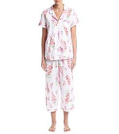 KN Karen Neuburger Floral Capri Pajama Set