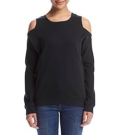 no comment™ Cold-Shoulder Pullover Top