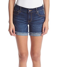 Celebrity Pink Fray Cuff Shorts