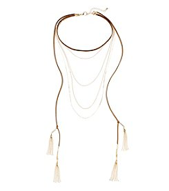 Relativity® Choker Multi Layered Necklace