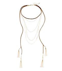 Relativity® Choker Multi Layered Necklace
