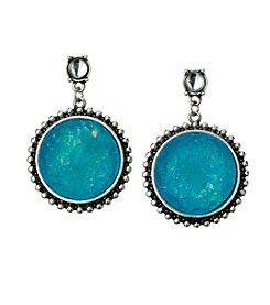 Studio Works® Post Top  Circle Drop Earrings